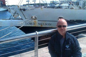 Diamond Engineer sets sail across the North Sea