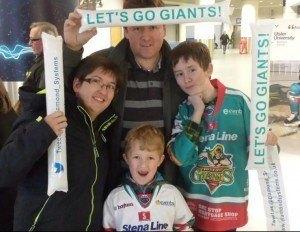 Sponsored Send-Off for Belfast Giants