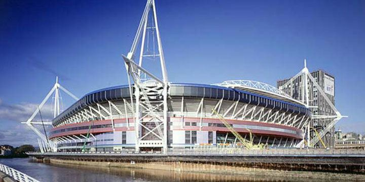 View The Millennium Stadium, Cardiff ?