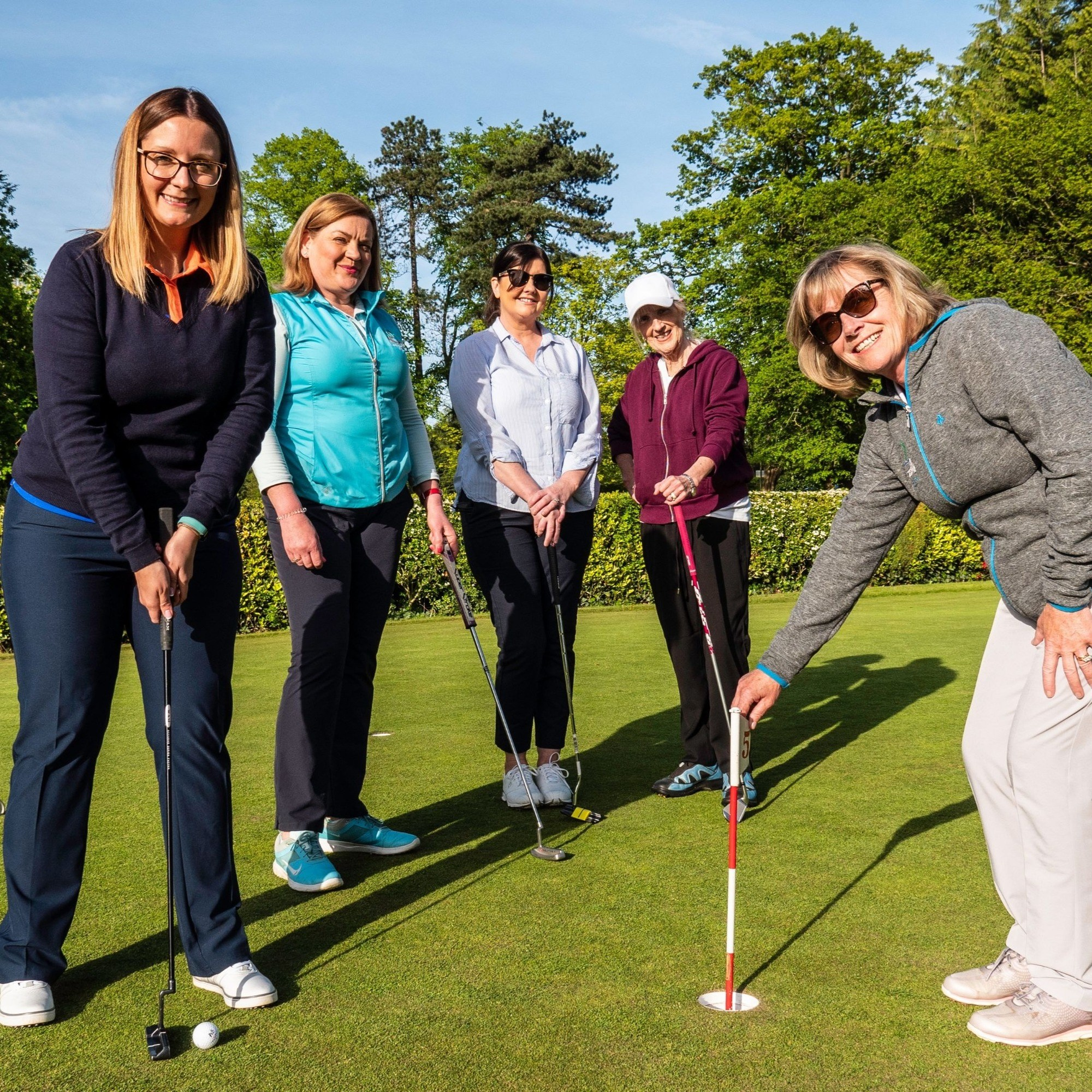 Business Ladies into Golf At Dunmurry Golf Club
