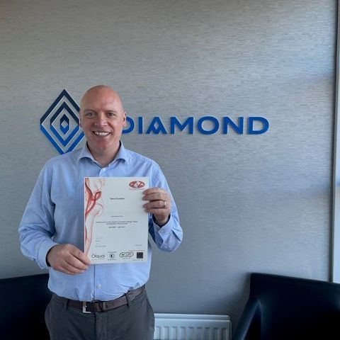 Diamond Director Awarded Fire Detection Design Qualification
